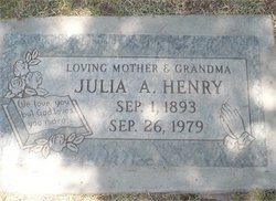 Julia Mora Julie <i>Armstrong</i> Henry