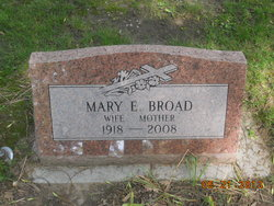 Mary Elizabeth <i>Murphy</i> Broad