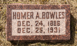 Homer Allen Bowles