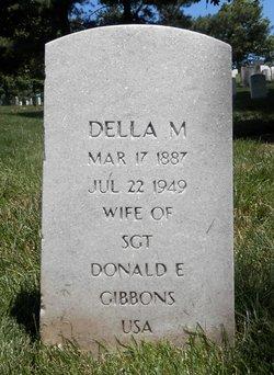 Della M Gibbons