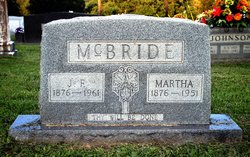 Martha Elizabeth <i>Gower</i> McBride