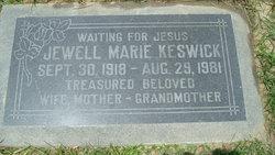 Jewell Marie <i>Risley</i> Keswick