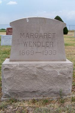 Margaret <i>Unrein</i> Wendler
