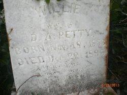 Willie Beatrice <i>Tubb</i> Petty