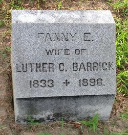 Fanny E. Barrick