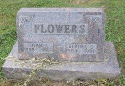 Bertha G. <i>Metzger</i> Flowers