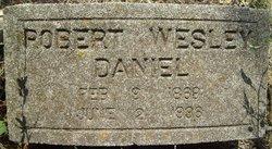 Robert Wesley Daniel