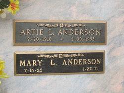 Mary L. <i>Scheuerman</i> Anderson