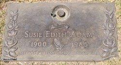 Susie Edith <i>Parker</i> Adams