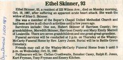 Mary Ethel <i>Eads</i> Skinner