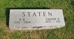 Fannie P. <i>Barnett</i> Staten