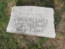Carrie D Nesbitt