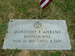 Dorothy F Ahrens