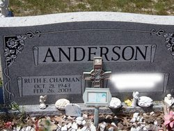 Ruth E <i>Chapman</i> Anderson