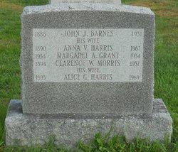 Anna V <i>Harris</i> Barnes