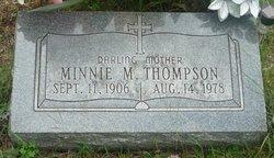 Minnie Maude <i>Vandeventer</i> Thompson