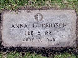 Anna C. <i>Lunzer</i> Deutsch