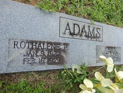 Rothalene <i>Parrish</i> Adams