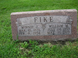 Minnie Jane <i>Hotchkiss</i> Fike