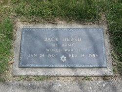 Jacob Jack <i>Hershkovitz</i> Hersh