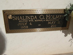 Shalinda O. Holmes