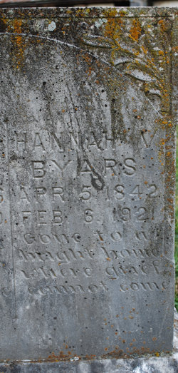 Hannah Virginia <i>Grinstead</i> Byars
