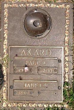 Paul Richard Akard