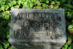 Alice <i>Lowe</i> Dasher