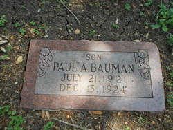 Paul A Bauman
