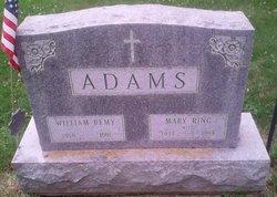 Mary <i>Ring</i> Adams