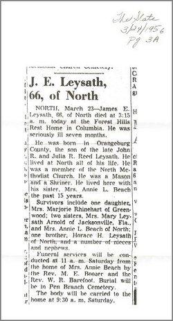 James Ernest Leysath
