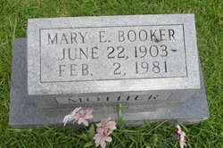 Mary E Booker