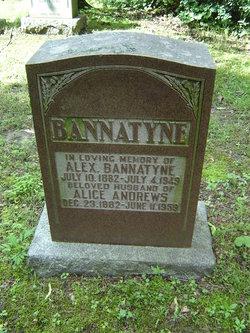 Alice <i>Andrews</i> Bannatyne