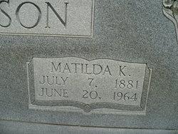 Matilda Happy Matilda <i>Kilgore</i> Anderson