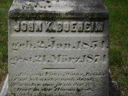 John K Boeheim