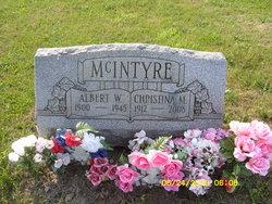 Christina M McIntyre