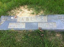 Mary Ann Molly <i>Maness</i> Ables