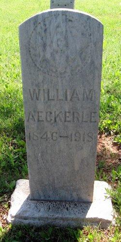 William Aeckerle