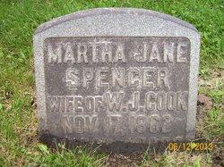 Martha Jane <i>Spencer</i> Cook