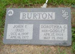 Dorothea G <i>Godley</i> Burton