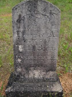 Dorothy A <i>Williams</i> Boles