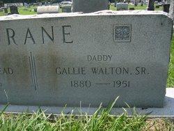 Gallie Walton Drane, Sr