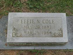 Effie <i>Niven</i> Cole