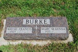 Wayne Francis Burke, I