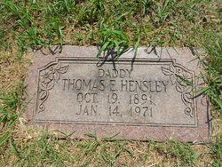 Thomas Everett Hensley