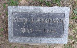 Anna B. <i>Sterner</i> Corfman