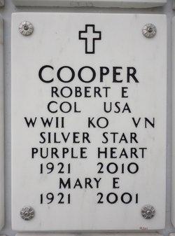 Robert E Cooper