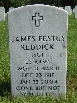 Maj James Festus Reddick