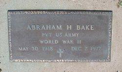Abraham H. Bake