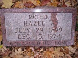 Hazel A <i>Sevener</i> De Weerd